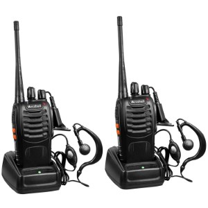 Arcshell Rechargeable Long Range Two Way Radios
