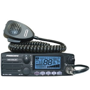 President Mckinley Usa 40 Channel Cb Radio