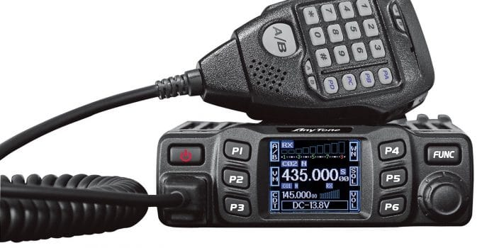 Anytone At 778uv Dual Band Transceiver Mobile Radio Review