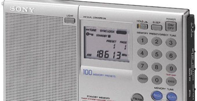 Sony Icf Sw7600gr Am Fm Shortwave World Band Receiver Review