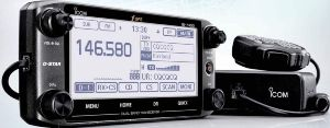 Icom Id 5100a Deluxe 144 440 Amateur Radio Mobile Transciver With Touch Screen