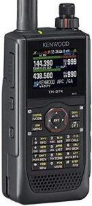 Kenwood Original Th D74a 144 220 430 Mhz Triband With Ultimate In Aprs And D Star Performance (digital) Handheld Transceiver 5w