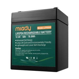 Miady 12v 6ah Rechargeable
