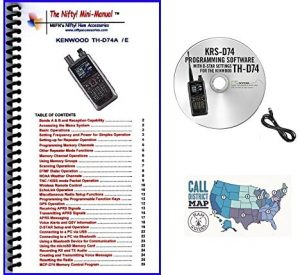 Kenwood Th D74a Accessory Bundle With Rt Programming Software