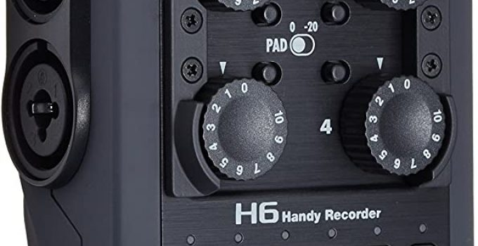 Zoom H6 6 Track Portable Recorder Review